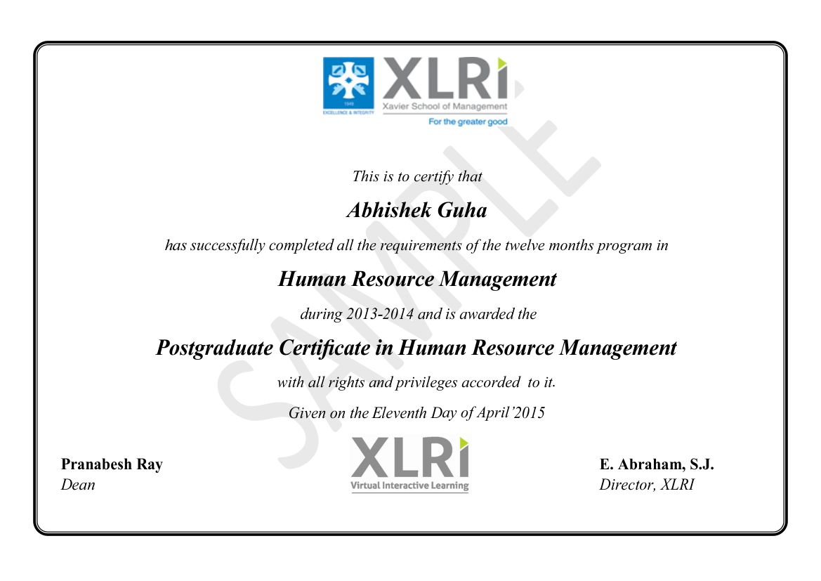 ephrm certificate